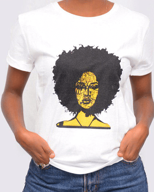 Yellow Afro